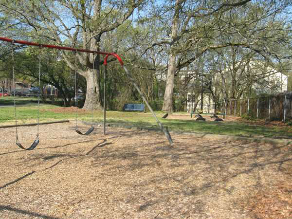 Durham&#39;s Oakwood Avenue Park. <span class=meta>(WTVD Photo)</span>