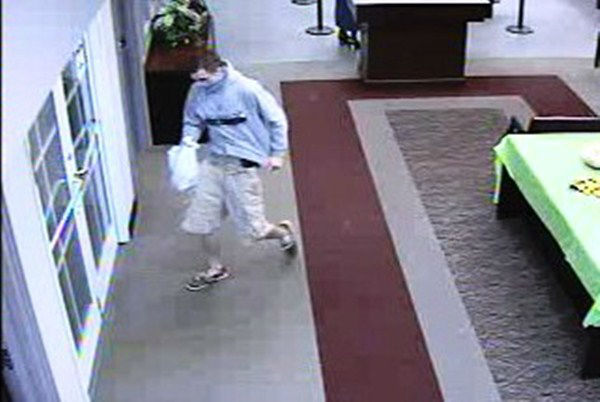 "<div class=""meta ""><span class=""caption-text "">Fayetteville police believe the same man robbed a BB&T on Oct. 5 and Aug. 24.  (Photo/Images courtesy Fayetteville Police Department)</span></div>"