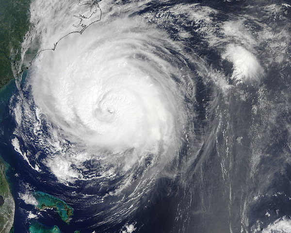 Hurricane Earl seen from space. <span class=meta>(NASA)</span>