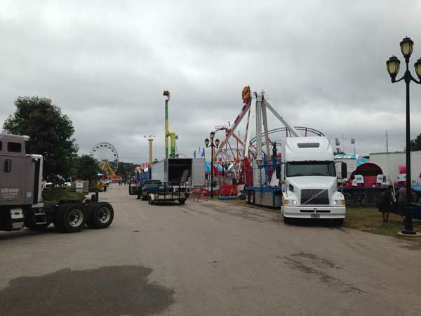 "<div class=""meta ""><span class=""caption-text "">Fans can expect a mix of the old and the new this year during the fair's 11-day run. (Photo/WTVD, Lori Denberg)</span></div>"