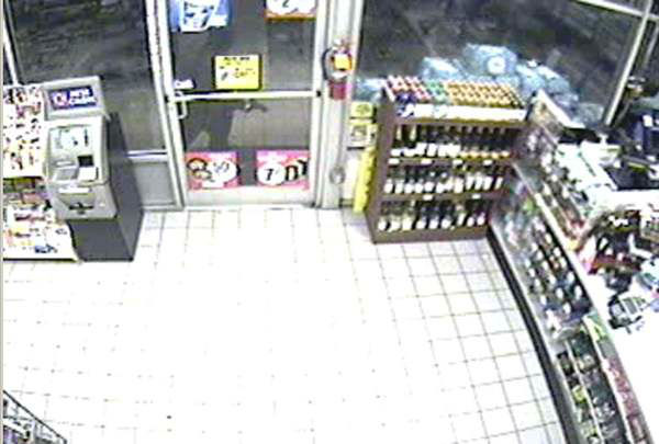 "<div class=""meta ""><span class=""caption-text "">Wake County Sheriff's Department is looking for a suspect who robbed the Circle K on Stage Road three times. (Photo/Wake County Sheriff's Department)</span></div>"