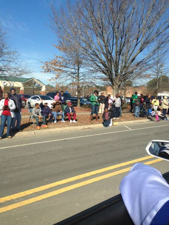 "<div class=""meta ""><span class=""caption-text "">The 12th Annual Durham MLK/Black History Month Parade took place Saturday, February 1. The parade kicked off on Fayetteville Street, and ABC11's Caitlin Knute and Anthony Wilson were on hand to join in the festivities.  (WTVD Photo/ Caitlin Knute and Anthony Wilson)</span></div>"