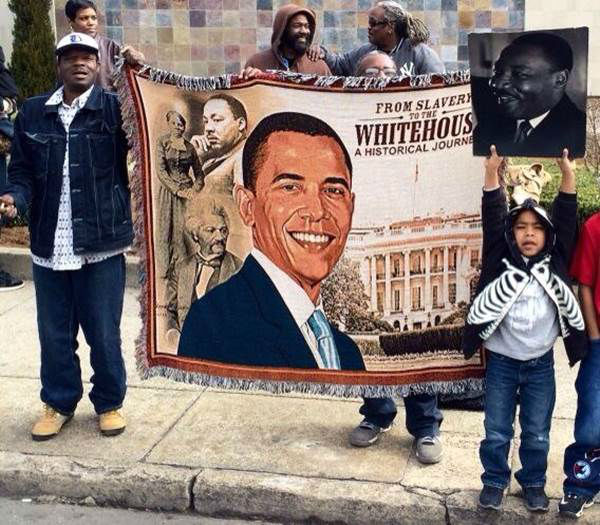 The 12th Annual Durham MLK&#47;Black History Month Parade took place Saturday, February 1. The parade kicked off on Fayetteville Street, and ABC11&#39;s Caitlin Knute and Anthony Wilson were on hand to join in the festivities.  <span class=meta>(WTVD Photo&#47; Caitlin Knute and Anthony Wilson)</span>