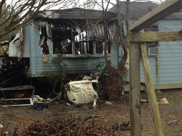 Neighbors told ABC11 one woman was burned trying to escape.  <span class=meta>(WTVD Photo&#47; Tommy Harris)</span>