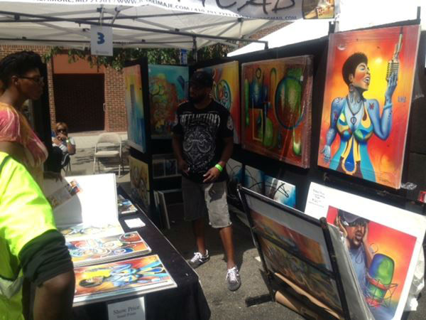 Thousands visited Fayetteville Street in downtown Raleigh for the African American Cultural Festival <span class=meta>(WTVD Photo&#47; Tommy Harris)</span>