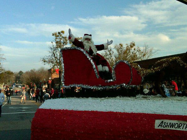 "<div class=""meta ""><span class=""caption-text "">Some of the ABC11 crew participated in the Cary Christmas Parade Saturday.  (WTVD Photo)</span></div>"