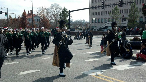 ABC11 was on hand Saturday for the Fayetteville Christmas Parade <span class=meta>(WTVD Photo)</span>
