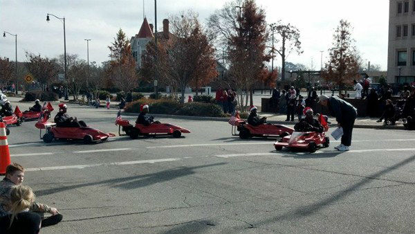 ABC11 was on hand Saturday for the Fayetteville Christmas Parade <span class=meta>(WTVD Photo&#47; Tisha Powell)</span>