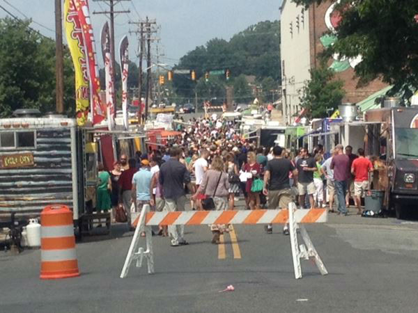Over 60 trucks were in attendance for the largest food truck rodeo in Durham on Sunday <span class=meta>(WTVD Photo&#47; Tommy Harris)</span>