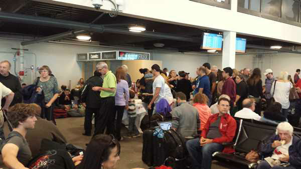 A Cary resident was inside the airport when the shooting unfolded <span class=meta>(WTVD Photo&#47; Kristina Benson)</span>