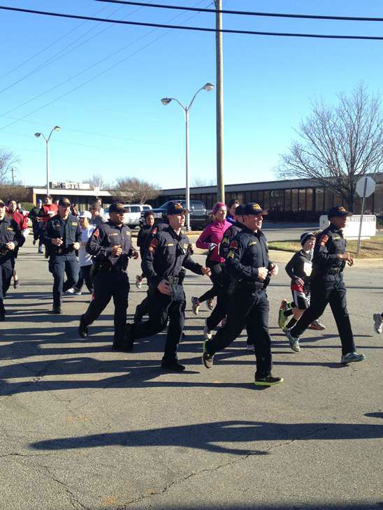 Each of the 8,000 racers at this year?s Krispy Kreme Challenge consumed 2,400 calories, 12 doughnuts, and ran five miles in one hour <span class=meta>(WTVD Photo&#47; Lori Denberg)</span>