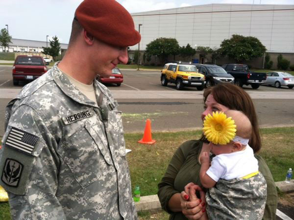 A North Carolina National Guard unit has returned home after nearly a year overseas <span class=meta>(WTVD Photo&#47; Tommy Harris)</span>