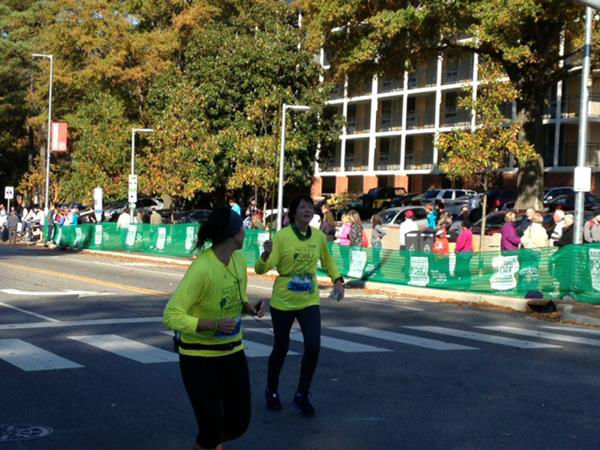 "<div class=""meta ""><span class=""caption-text "">More than 5,500 runners took part in all the races involved in Sunday's Raleigh City of Oaks Marathon. (WTVD Photo/ Lori Denberg)</span></div>"