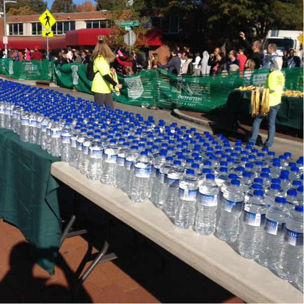 More than 5,500 runners took part in all the races involved in Sunday&#39;s Raleigh City of Oaks Marathon. <span class=meta>(WTVD Photo&#47; Lori Denberg)</span>