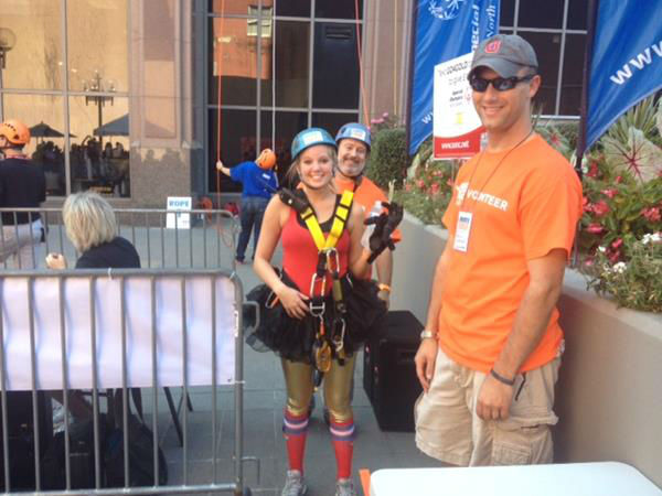 In the fourth year of the Raleigh fundraiser, nearly 140 thrill seekers raised over &#36;170,000 for the Special Olympics of NC <span class=meta>(WTVD Photo&#47; Lori Denberg)</span>