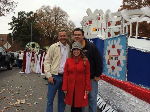 Here&#39;s what we saw while riding on the ABC11 Eyewitness News float in Saturday&#39;s parade <span class=meta>(WTVD Photo)</span>