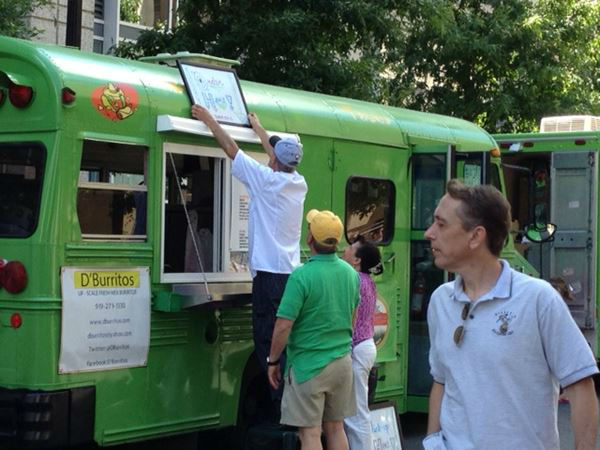 "<div class=""meta ""><span class=""caption-text "">We found several people spending Mother's Day at the Raleigh Food Truck Rodeo (WTVD Photo/ Lori Denberg)</span></div>"