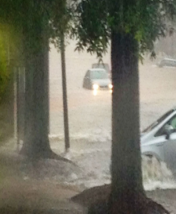 "<div class=""meta ""><span class=""caption-text "">Heavy rain flooded areas in the Triangle on Sunday (WTVD Photo)</span></div>"