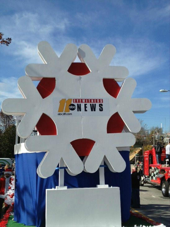 Photos from Saturday&#39;s Christmas parade in downtown Raleigh <span class=meta>(WTVD Photo)</span>