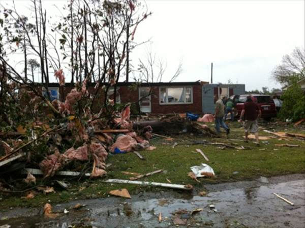 Tornado damage  <span class=meta>(WTVD Photo&#47; uReport)</span>