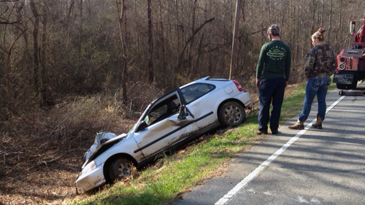 A young driver on her way to church lost her life Sunday morning.  <span class=meta>(WTVD Photo&#47; Jason Thompson)</span>