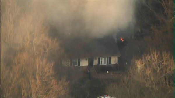 "<div class=""meta ""><span class=""caption-text "">A fire damaged a home in the 1700 block of Foxwood Drive in Garner Thursday afternoon. (WTVD Photo)</span></div>"