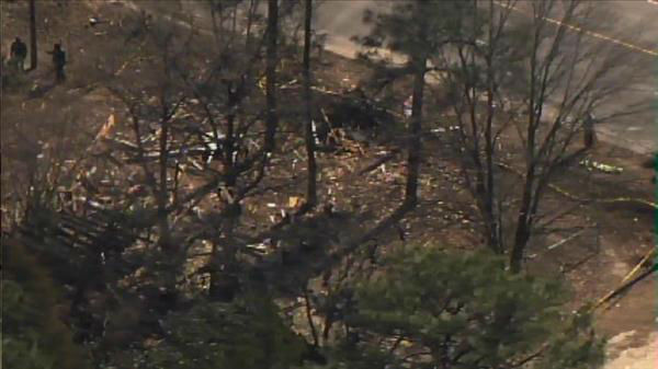 "<div class=""meta image-caption""><div class=""origin-logo origin-image ""><span></span></div><span class=""caption-text"">Authorities in Fayetteville are investigating an early Wednesday morning explosion at a vacant home in 3300 block of Cumberland Road.  (Photo/Chopper11 HD)</span></div>"