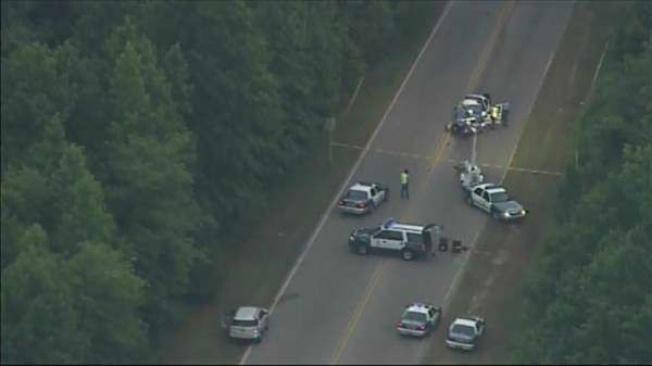 "<div class=""meta ""><span class=""caption-text "">Raleigh police are investigating an early morning accident involving one of their officers. (Photo/Chopper11 HD)</span></div>"