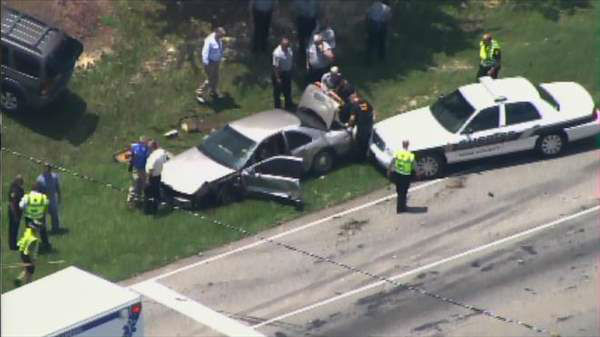 "<div class=""meta ""><span class=""caption-text "">Wake County officials respond to crash on New Bern Ave near Freedom Drive in Raleigh Friday afternoon. (Photo/Chopper11 HD)</span></div>"