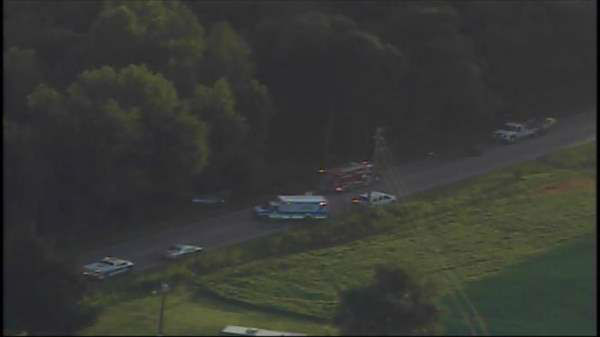 "<div class=""meta image-caption""><div class=""origin-logo origin-image ""><span></span></div><span class=""caption-text"">Photos from Chopper 11 HD of a collision on NC-98 at NC-96 in Zebulon early Friday morning.  (Photo/Chopper11 HD)</span></div>"