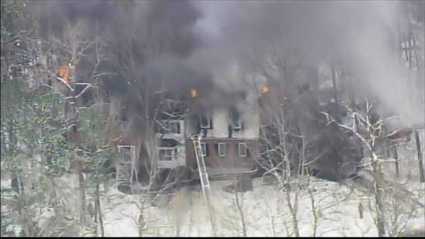 "<div class=""meta image-caption""><div class=""origin-logo origin-image ""><span></span></div><span class=""caption-text"">Blaze broke out at a home in the 2300 block of Heartley Drive off Creedmoor Road Wednesday morning.  (Photo/Chopper11 HD)</span></div>"
