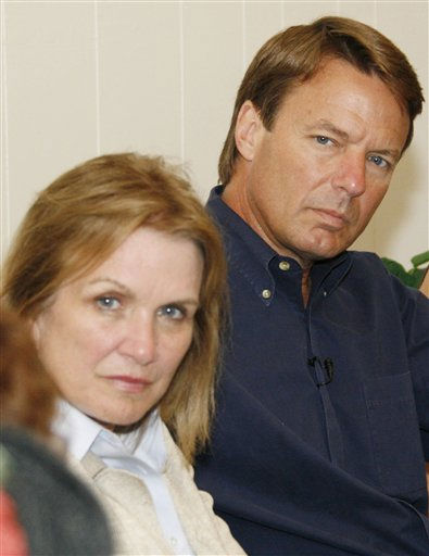 Democratic presidential hopeful John Edwards, right, and his wife Elizabeth Edwards, listen as poultry industry workers and area residents discuss working and economic conditions at a Canton, Miss., church, Monday, July 16, 2007, during Edward&#39;s &#34;poverty tour.&#34; The tour was an eight-state campaign to highlight poverty in America, and many of the people who spoke with Edwards in Canton work in the poultry industry.  <span class=meta>(AP Photo&#47; Rogelio V. Solis)</span>
