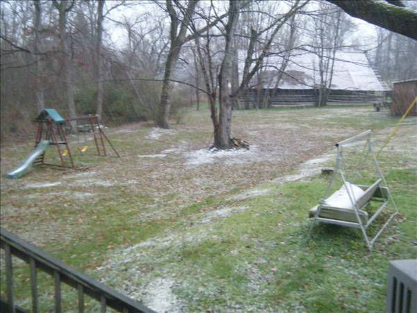 "<div class=""meta ""><span class=""caption-text "">The Triangle saw rain, sleet, and snow in areas Sunday (WTVD Photo/ uReport viewer submitted image)</span></div>"