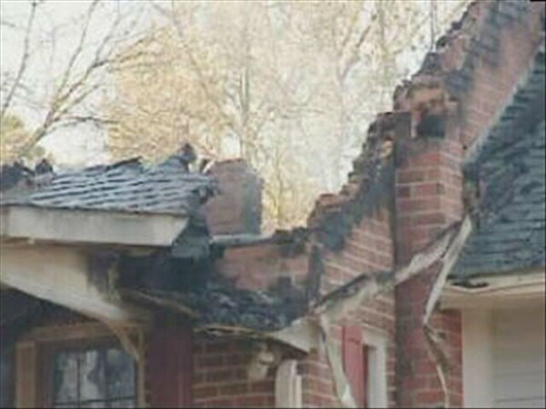 A soldier and his two daughters died in a house fire in Cumberland County early Tuesday morning. <span class=meta>(WTVD Photo)</span>