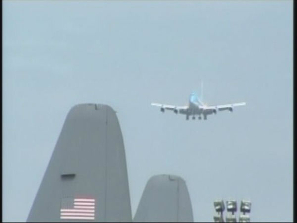 President Obama visits North Carolina March 7, 2012. <span class=meta>(WTVD Photo)</span>