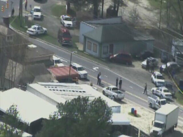 Police investigate a shooting at East Geer St. and Ferrell Rd. in Durham.  <span class=meta>(WTVD Photo)</span>