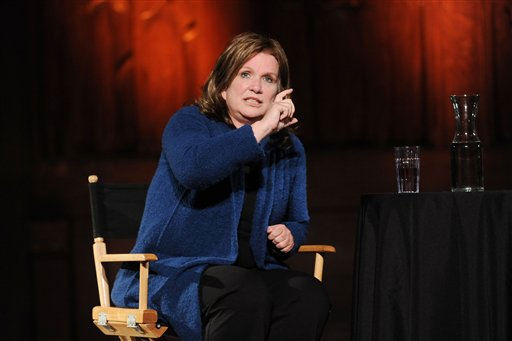 "<div class=""meta ""><span class=""caption-text "">In this image released by the New Yorker Festival, Elizabeth Edwards, wife of former Sen. John Edwards, D-N.C., is shown during an interview at The 2008 new Yorker Festival, Saturday, Oct. 4, 2008 in New York. (AP Photo/ Bill Davila)</span></div>"