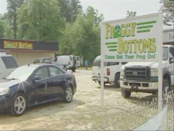 The Froggy Bottoms bar where Bordeaux was last seen.   <span class=meta>(WTVD Photo)</span>