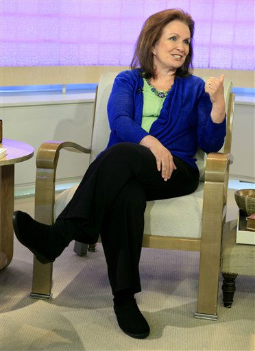 Elizabeth Edwards appears on the NBC &#34;Today&#34; television program in New York Monday, May 11, 2009. <span class=meta>(AP Photo&#47; Richard Drew)</span>