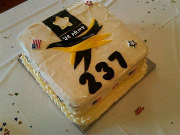 The XVIII Airborne Corps, Fort Bragg, and the Fayetteville VA Medical Center co-hosted a cake competition Tuesday in honor of the Army&#39;s 237th anniversary. <span class=meta>(WTVD Photo&#47; Gilbert Baez)</span>