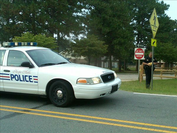 Police investigate in Hope Mills  <span class=meta>(WTVD Photo&#47; Lou Guilette)</span>