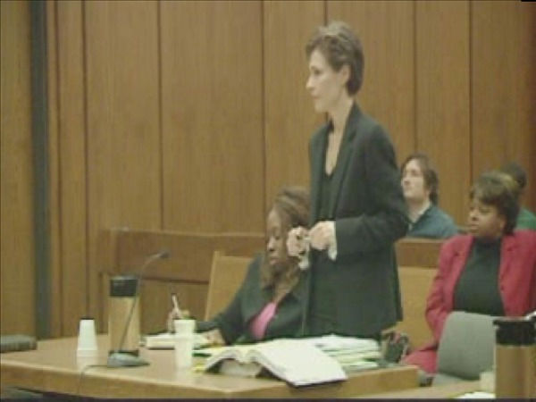 "<div class=""meta ""><span class=""caption-text "">Mangum's attorney addresses the court last year during Mangum's trial on domestic violence charges against another boyfriend. (WTVD Photo)</span></div>"