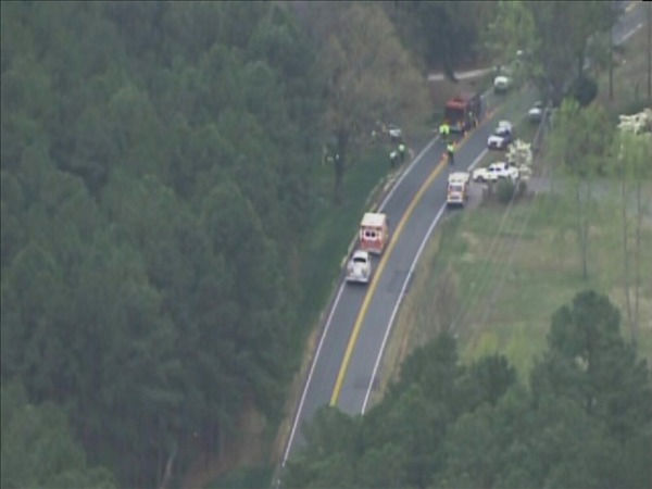 "<div class=""meta image-caption""><div class=""origin-logo origin-image ""><span></span></div><span class=""caption-text"">Police investigate at the scene of the crash Wednesday afternoon. (WTVD Photo/ Chopper 11 HD)</span></div>"