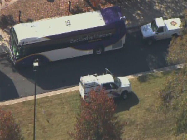 East Carolina University  <span class=meta>(WTVD Photo&#47; Chopper 11 HD)</span>