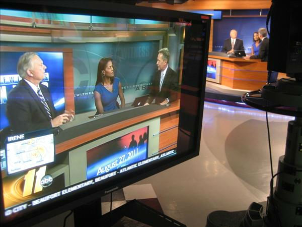 Larry, Tisha and Chris in the Durham studio. <span class=meta>(WTVD Photo&#47; Ian Slack)</span>