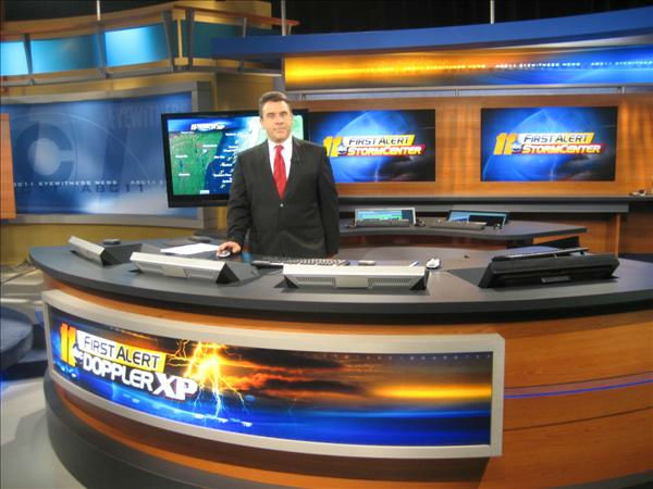Steve in the Durham studio. <span class=meta>(WTVD Photo&#47; Ian Slack)</span>