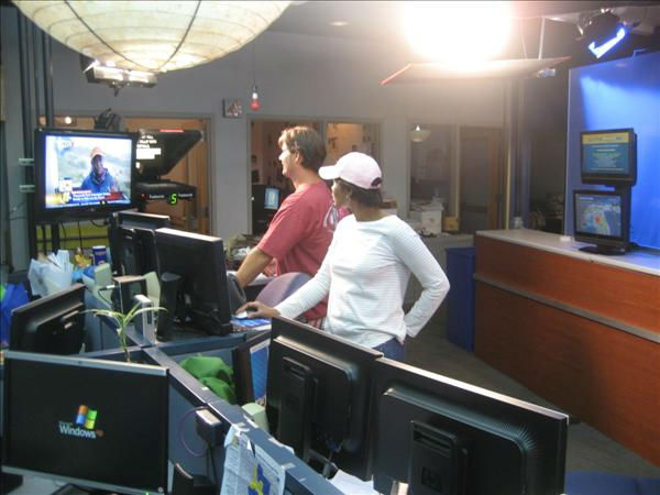 Producers Robyn Philyaw and Bobby Semler. <span class=meta>(WTVD Photo&#47; Ian Slack)</span>