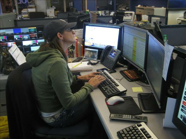 Executive Producer Lori Denberg. <span class=meta>(WTVD Photo&#47; Ian Slack)</span>