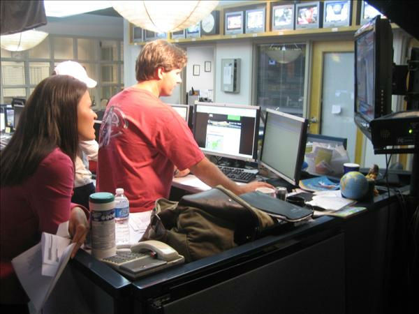 Amber Rupinta and Producer Bobby Semler. <span class=meta>(WTVD Photo&#47; Ian Slack)</span>