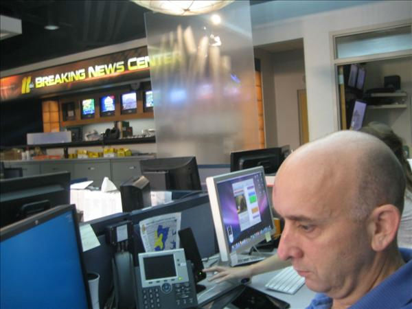 Web Executive Producer Ian Slack. <span class=meta>(WTVD Photo&#47; Ian Slack)</span>